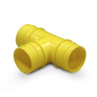 T-Distributor for 38 mm Hose with Thread (Pack of 1)