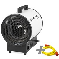 TDS 50 R Electric Fan Heater + Pro extension cable 20 m / 400 V / 2,5mm²