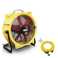 Ventilatore TTV 4500 HP + Prolunga Professionale 20 m / 230 V / 2,5 mm²