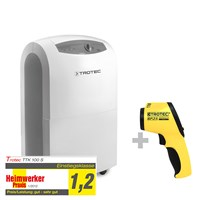 TTK 100 S Dehumidifier + BP25 Pyrometer-Dew Point Scanner
