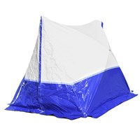 250 TE Work Tent, 250*200*190, pitched roof, blue