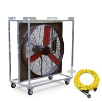 TTW 20000 Wind Machine + Professional Extension Cable 20m / 230 V / 2,5mm²