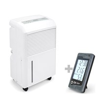 TTK 90 E Dehumidifier + BZ05 Indoor Thermohygrometer