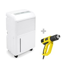 TTK 90 E Dehumidifier + HyStream 2000 Hot Air Gun