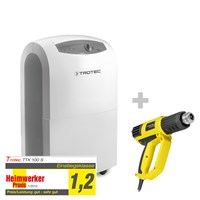 TTK 100 S Dehumidifier + HyStream 2000 Hot Air Gun