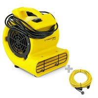 Ventilatore turbo TFV 10 S + Prolunga professionale 20 m / 230 V / 2,5 mm²