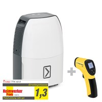TTK 40 E Dehumidifier + RP15 Infrared Thermometer / Pyrometer