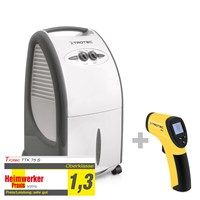 TTK 75 S Dehumidifier + RP15 Infrared Thermometer / Pyrometer