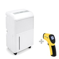 TTK 90 E Dehumidifier + RP15 Infrared Thermometer / Pyrometer