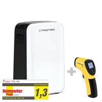 TTK 71 E Dehumidifier + RP15 Infrared Thermometer / Pyrometer