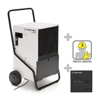 TTK 650 S Commercial Dehumidifier + Operating Hours Counter incl. mounting