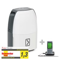 Deumidificatore TTK 40 E + Termometro da barbecue BT40