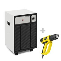 TTK 120 S Dehumidifier + HyStream 2000 Hot Air Gun