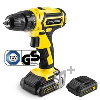 Li-Ion Cordless drill PSCS 10-16V incl. additional battery