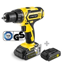 Li-Ion Cordless drill PSCS 10-20V incl. additional battery