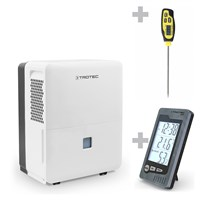 TTK 96 E dehumidifier + BZ05 Indoor Thermohygrometer + BT20 Penetration Thermometer