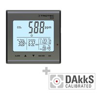 BZ25 CO2 Air Quality Monitoring Device - Calibrated according to DAkkS D.2101