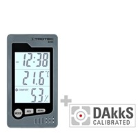 BZ05 Indoor Thermohygrometer - Calibrated according to DAkkS D.2102