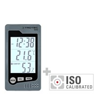 BZ05 Indoor Thermohygrometer - Calibrated according to ISO I.2101