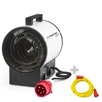 TDS 30 R Electric Fan Heater + Pro extension cable 20 m / 400 V / 2,5mm²