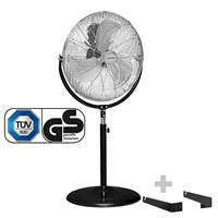 Stand fan TVM 18 S + Wall and Ceiling Bracket