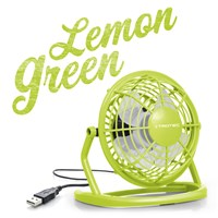 USB Ventilator Lemon Green TVE 1L