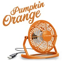 Ventilateur de table USB orange TVE 1O