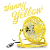 Ventilador color Sunny Yellow USB TVE 1Y