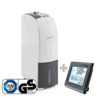 TTK 30 S Dehumidifier + BZ25 CO2 Air Quality Monitoring Device