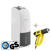 TTK 30 S Dehumidifier + HyStream 2000 Hot Air Gun