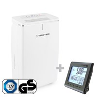TTK 53 E Dehumidifier + BZ25 CO2 Air Quality Monitoring Device