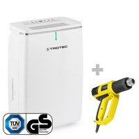 TTK 72 E Dehumidifier + HyStream 2000 Hot Air Gun