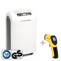TTK 100 E Comfort Dehumidifier + RP15 Infrared-Thermometer / Pyrometer