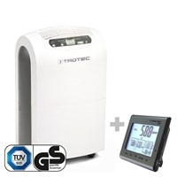 TTK 100 E Comfort Dehumidifier + BZ25 Air Quality Monitoring Device