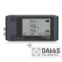 DL200P Professional Data Logger Anthracite - Calibrated according to DAkkS D.2302