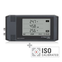 Data logger profesional DL200P antracit - calibrat conform ISO I.2302