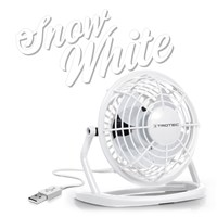 Ventilateur de table USB blanc TVE 1W