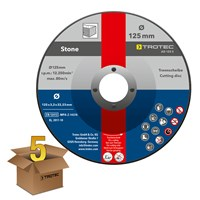 AD 125 S Stone cutting disc in a pack of 5