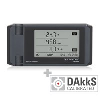 DL200H Professional Data Logger - Calibrated according to DAkkS D.2101
