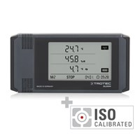 DL200H Professional Data Logger - Calibrated according to ISO I.2302