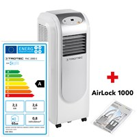 PAC 2000 E Local Air Conditioner with UK Plug + Airlock 1000