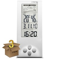 Thermohygrometer Weather Station BZ06 Pack of 3