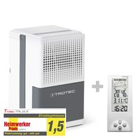 TTK 25 E Dehumidifier + Thermohygrometer Weather Station BZ06