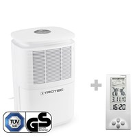TTK 30 E Dehumidifier + Thermohygrometer Weather Station BZ06