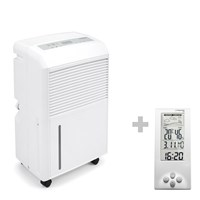 TTK 90 E Dehumidifier + Thermohygrometer Weather Station BZ06