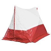 Work tent 250 TE 250*200*190 Steep roof in Red