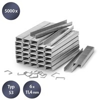Set de 5000 agrafes de type 53, L 6 mm