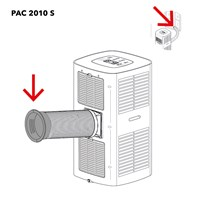PAC 2010 S Connection hose / window