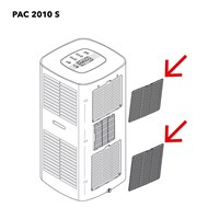 PAC 2010 S Air filter