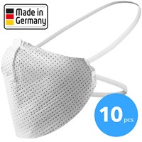 Face mask, Made in Germany 10 pieces